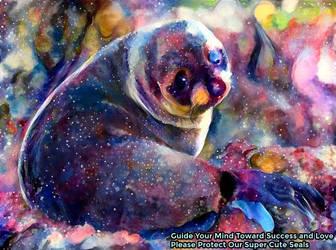 Dream Seal Art Everyday I Lived - 7/29/1998 by MatthewandKatlayn