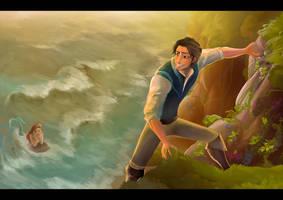 Mermaid's tangled tale by Ardinaryas