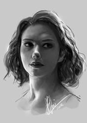 The Black Widow by Ardinaryas