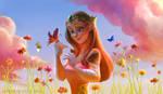 Princess Zelda by Ardinaryas