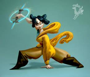 Kung Fu Jedi by Ardinaryas