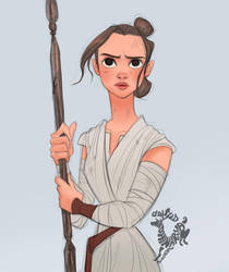 Star Wars Rey by Ardinaryas