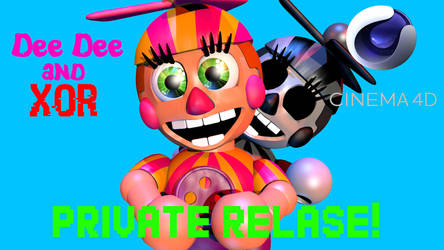 Dee Dee and XOR C4D Private Release!(scary edit) by Coltrn228