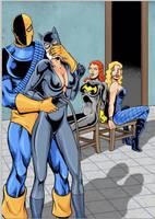 Three for Three (Gotham girls edition) by Radius45