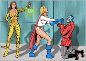 Reversal of Kryptonian Fortune (Power Girl redux) by Radius45