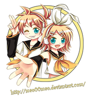 :gift:kagamine twins by mao00mao