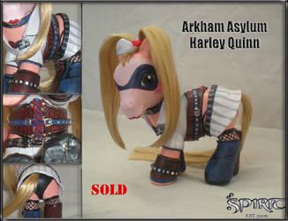 Arkham Asylum Harley Quinn by spiritimvu