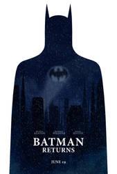 Batman Returns poster by drMIERZWIAK