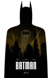 Batman poster by drMIERZWIAK