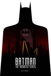 Batman TAS poster by drMIERZWIAK