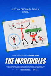 The Incredibles poster by drMIERZWIAK
