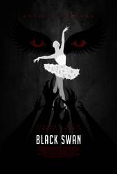 Black Swan poster by drMIERZWIAK