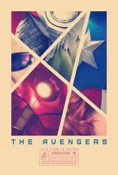 The Avengers poster by drMIERZWIAK