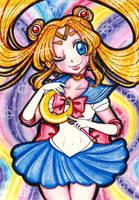 Pretty Guardian Sailor Moon by sekaiichihappy