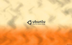 Ubuntu orange wallpaper by neo74