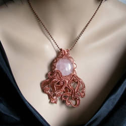 Octopus pendant by CatsWire