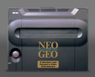 NEO GEO Box (cgi) by Arcade-TV