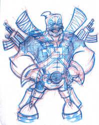Deadpool Sketch by juniorbethyname