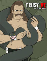 Jake ''The Snake'' Roberts by juniorbethyname