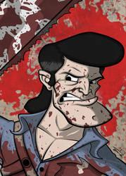 Ash the Deadite Slayer by juniorbethyname