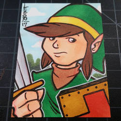 Link Sketchcard  by juniorbethyname
