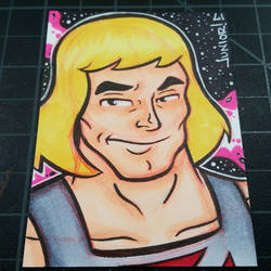 He-Man Sketchcard  by juniorbethyname