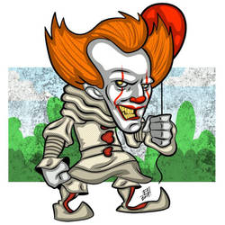 Pennywise - Stephen King's  IT by juniorbethyname