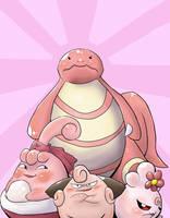 PKMN - Team Pink by Koorii