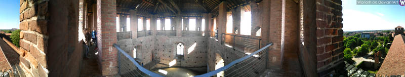 360 degree view of the Tower, for Virtual Reality by Woriorh