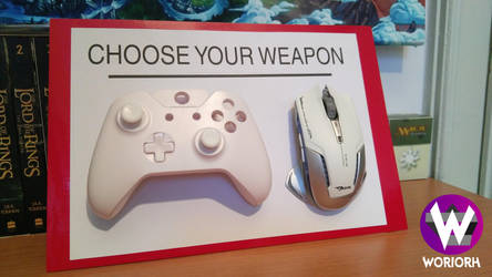 Choose your Weapon! by Woriorh