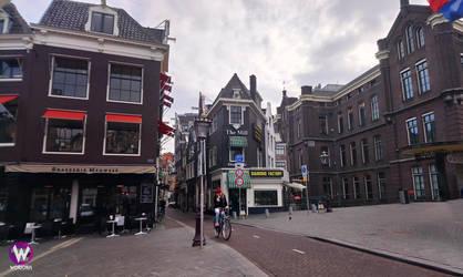Amsterdam or...Diagon Alley city? by Woriorh