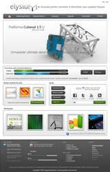 Elysium Aerospace_Website V.4 by alexandru-r-ghinea