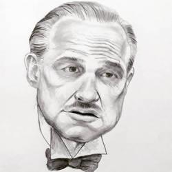 Marlon Brando The Godfather by AqilBeatDynamic