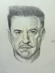Robert Downey Jr. (Tony Stark) by AqilBeatDynamic