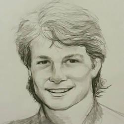 Michael J Fox (Marty McFly) by AqilBeatDynamic