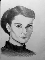 Audrey Hepburn by AqilBeatDynamic