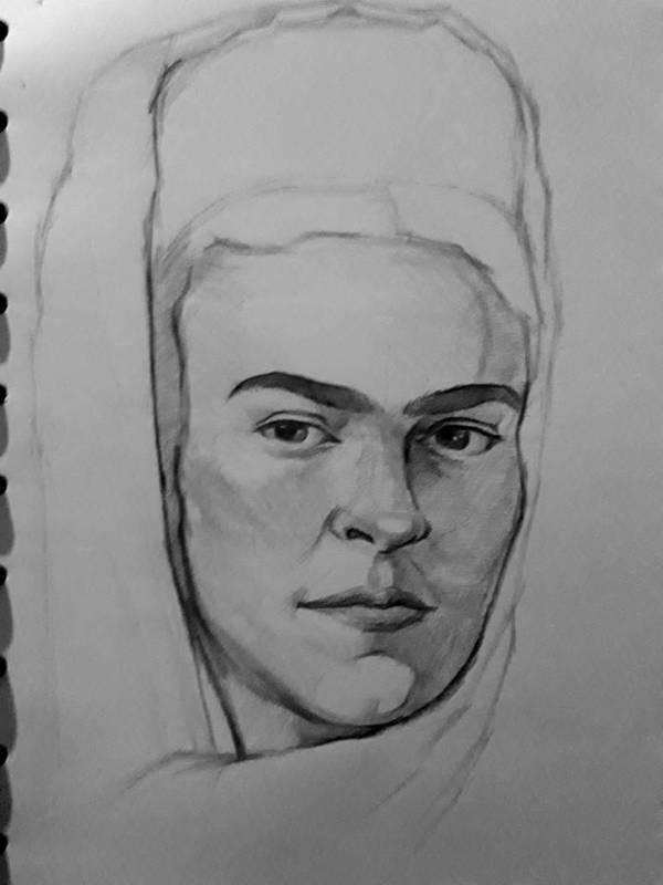 Frida Kahlo by AqilBeatDynamic