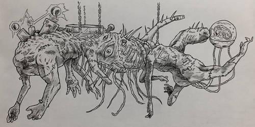 Frankenstein's OTHER Creation by DavidDeMendoza