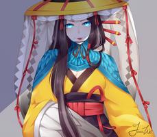 Fanart - Gu Huo Niao by JeanaWei