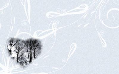 Winter Trees Wallpaper by Silent-Broken-Wish