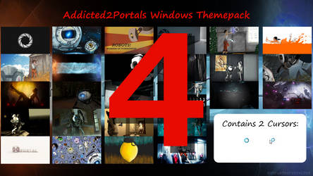 Addicted2portals Windows Themepack 4 by Th00z