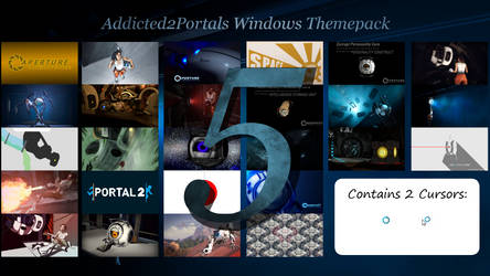 Addicted2portals Windows Themepack 5 by Th00z