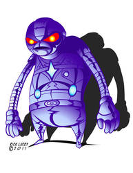 Robot X-G by Drawrick
