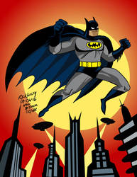 Happy Twenty Year Anniversary BATMAN THE ANIMATED by Drawrick