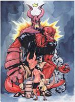Hellboy Legacy by BAM---BAM