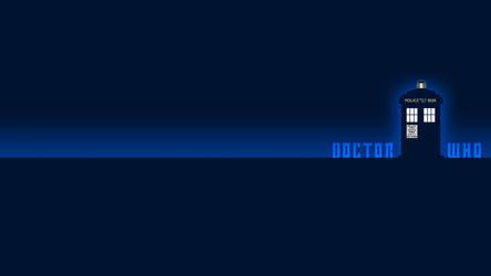 TARDIS Wallpaper 1600x900 by apricot-tea