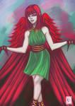 BlackManaBurning's OC Contest - Fallon by Erydrin