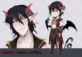 [ Adopt Auction ] Demon Prince | CLOSED by UmbraOwl