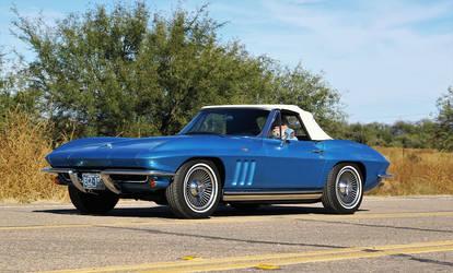 1965 Corvette roadster by finhead4ever