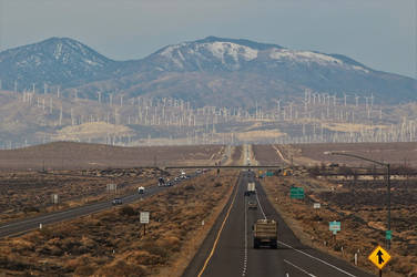 Hwy 58 to Tehachapi by finhead4ever
